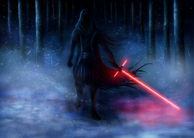 The force awakens by EndorharAensamel