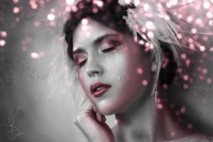 Rose Colored Tears by Rachgraceh