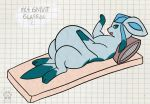 Pregnant Glaceon by geckoguy123456789