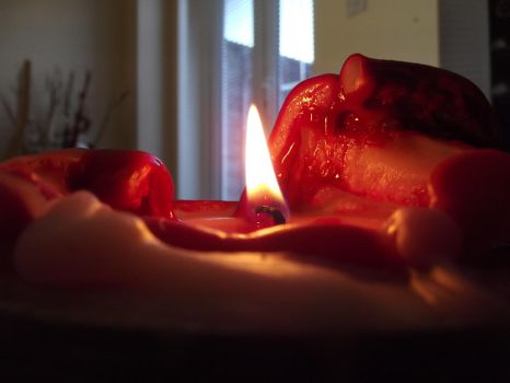 Burning Candle.. by 1996Courtney2011
