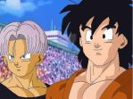 Teen Goten and Trunks by RinskeR