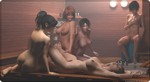 Sauna party by Y-Phil