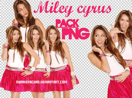 Pack Miley Cyrus PNG -Pink by NyaAkemiChan