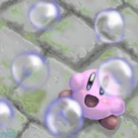 Kirby - With Bubbles and Such by Minon