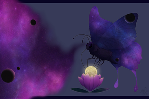 The Space Butterfly's Dream by The-Hare