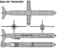 BGM-109 Tomahawk by bagera3005