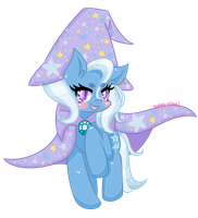 The Great and Powerful Trixie! by audra-hime