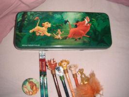 The lion king school stuff by kalynvalcourt