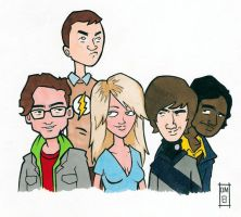 Big Bang Theory Group by emptypromises13