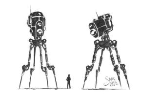 Concept Robots by MoS93
