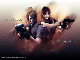 Claire and Leon- Into The Fire by Lilith-Winchester