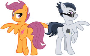 The Best Pegasi Duo since Foalhood by DreamCasterPegasus