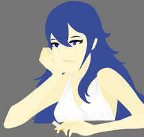 Lucina Taking a Break by LittlestPinsir