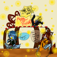G.::HAPPY BIRTHDAY::. by EvilPink95