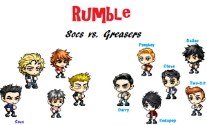 The Outsiders: Rumble by Kristy1997