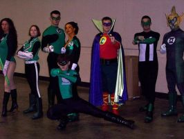 Green Lantern Corps by Bluebird0020