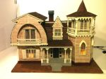 Munsters house scale model by johnstewartart