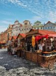 Prague - Street Scene II - Old Town Market by pingallery