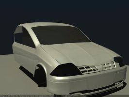 Ford falcon WIP2 by Affet-kak