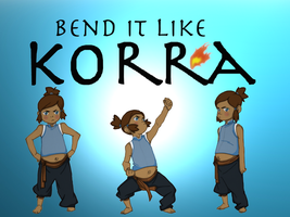 Bend It Like Korra by chromeknickers