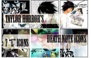 "Death Note Icons ""L"" by taylorhorror"