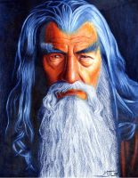 Gandalf the Grey by mattleese87