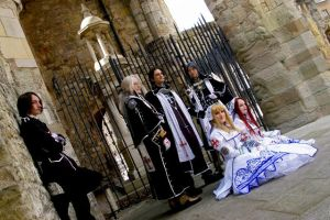 Trinity Blood - AX and RCO by nocturnal-blossom