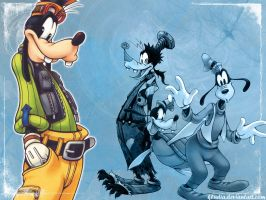 kh: goofy wallpaper by kludia