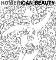 Homer-ican Beauty by Zoeira