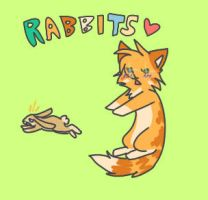 Rabbits by Applethecat13