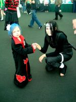 Orochimaru and Konan by MissSinisterCosplay