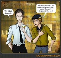 Constantine: what's a password by walterka