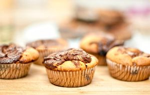 muffins with nutella by em888