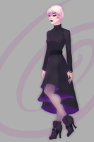 Commission:  Homestuck Rose Lalonde AU by andarix
