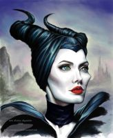 Maleficent, finished, badumtsch! by TheUglyBlowfly