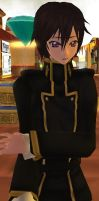 3D - Lelouch by Pikangie