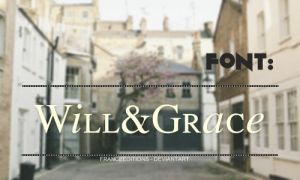 Will And Grace [Font] by FranceEditions