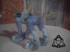 Digimon MetalGarurumon Papercraft Complete Back by HellswordPapercraft