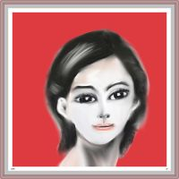 Woman face study n30 by lv888