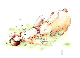 .:baby+baby+RABBIT:. by merry-zazoue
