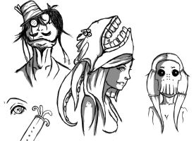 Concept Sketches by KidMars