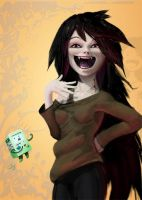 Marceline the vampire queen! by catwell