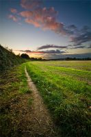 Country Sunset by adamlack
