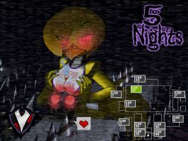 5 Nights - Chica's Cupcake by PlayboyVampire