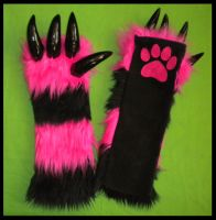 Monster Arm Warmers Custom 6 by StuffItCreations
