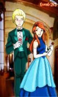 Formal Draco and Ginny by gwendy85