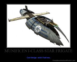Star Wars The Clone Wars Munificent Frigate by Onikage108