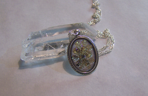 Snowflake Pendant by mymysticgems