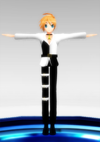 MMD- Meltdown Core Len by luckygirl88