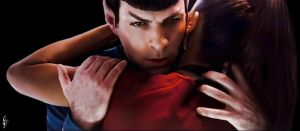 Spock and Uhura by fenraven